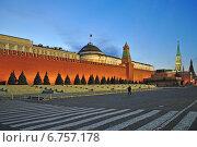 Купить «Красная площадь, Московский Кремль вечером», эксклюзивное фото № 6757178, снято 3 декабря 2014 г. (c) lana1501 / Фотобанк Лори