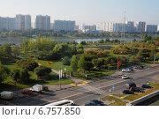 Вид на р.Москва (2014 год). Стоковое фото, фотограф Витинская Светлана / Фотобанк Лори