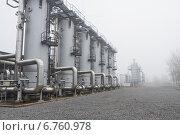 Адсорберы для подготовки газа. Стоковое фото, фотограф Anton Paley / Фотобанк Лори