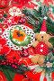 Закусочный бутерброд с красной икрой к новогоднему столу, фото № 6769494, снято 29 декабря 2013 г. (c) ElenArt / Фотобанк Лори