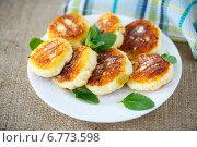 Купить «Сладкие сырники», фото № 6773598, снято 26 ноября 2014 г. (c) Peredniankina / Фотобанк Лори