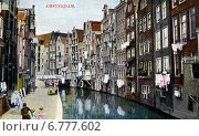 Купить «Улица, канал Achterburgwal в Амстердаме. Голландия», фото № 6777602, снято 27 мая 2019 г. (c) Юрий Кобзев / Фотобанк Лори