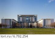 Ведомство федерального канцлера  Германии (2014 год). Стоковое фото, фотограф Евгений Питомец / Фотобанк Лори