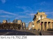 Парижская площадь. Берлин (2014 год). Редакционное фото, фотограф Евгений Питомец / Фотобанк Лори