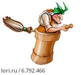 Купить «Баба-яга», эксклюзивная иллюстрация № 6792466 (c) Александр Павлов / Фотобанк Лори