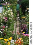 Садовая дорожка. Стоковое фото, фотограф Мельникова Надежда / Фотобанк Лори