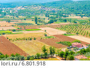 Распаханные земли для сельского хозяйства. Стоковое фото, фотограф Константин Лабунский / Фотобанк Лори