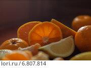 Цитрусовое ассорти. Стоковое фото, фотограф Анна Губина / Фотобанк Лори