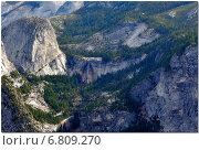 Панорама Национального парка «Йосемити», Калифорния, США (2014 год). Стоковое фото, фотограф Андрей Кочкин / Фотобанк Лори