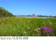 Замок на берегу. Стоковое фото, фотограф Юлия Лекомцева / Фотобанк Лори