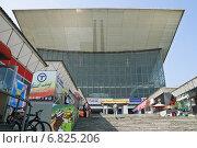 """Купить «Павильон № 70 """"Москва"""" на ВДНХ», эксклюзивное фото № 6825206, снято 8 мая 2010 г. (c) Алёшина Оксана / Фотобанк Лори"""