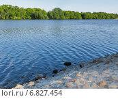 Каменистый берег реки. Стоковое фото, фотограф Daniela / Фотобанк Лори