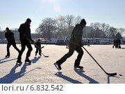 Купить «Amateur hockey players, Berlin, Germany», фото № 6832542, снято 11 января 2009 г. (c) Caro Photoagency / Фотобанк Лори