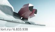 Купить «Современное здание, абстрактная архитектура», иллюстрация № 6833938 (c) Юрий Бельмесов / Фотобанк Лори