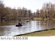 Воронцовский пруд в Москве (2014 год). Редакционное фото, фотограф Александр / Фотобанк Лори