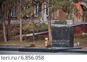 """Купить «Пятигорск, площадь Ленина, мемориал """"Вечный огонь""""», фото № 6856058, снято 21 ноября 2018 г. (c) Елена Корнеева / Фотобанк Лори"""