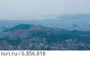 Купить «Акрополь в Афинах, Греция, таймлапс», видеоролик № 6856818, снято 16 ноября 2014 г. (c) Сергей Новиков / Фотобанк Лори