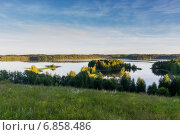 Острова озера Андозеро (2014 год). Стоковое фото, фотограф Алексей Аскаров / Фотобанк Лори