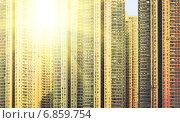 Жилой дом. Гонконг. Китай. Стоковое фото, фотограф Игорь Чайковский / Фотобанк Лори