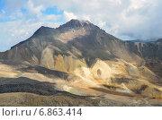 Купить «Северная вершина горы Арагац», фото № 6863414, снято 14 сентября 2014 г. (c) Овчинникова Ирина / Фотобанк Лори