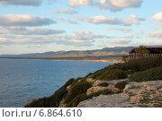 Кипр, Полис, морской пейзаж после заката (2012 год). Стоковое фото, фотограф Алтанова Елена / Фотобанк Лори