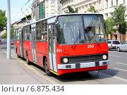 Купить «Ikarus Ganz 280», фото № 6875434, снято 23 июля 2014 г. (c) Art Konovalov / Фотобанк Лори