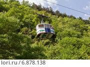 Купить «Канатная дорога в Боржоми. Грузия», фото № 6878138, снято 6 июля 2013 г. (c) Евгений Ткачёв / Фотобанк Лори