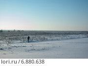 Купить «Лыжница», фото № 6880638, снято 7 января 2015 г. (c) Газизов Роман / Фотобанк Лори