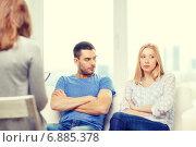 Купить «young couple with a problem at psychologist office», фото № 6885378, снято 9 февраля 2014 г. (c) Syda Productions / Фотобанк Лори