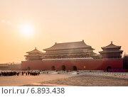 Купить «Запретный город. Пекин, Китай», фото № 6893438, снято 3 января 2015 г. (c) Liseykina / Фотобанк Лори