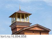 Купить «Башенка с беседкой на крыше Домика Чайковского в Таганроге», фото № 6894858, снято 19 апреля 2014 г. (c) Борис Панасюк / Фотобанк Лори