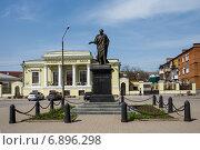Купить «Памятник Александру I в Таганроге», фото № 6896298, снято 19 апреля 2014 г. (c) Борис Панасюк / Фотобанк Лори