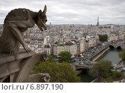 Купить «Париж. Городской пейзаж», фото № 6897190, снято 10 октября 2011 г. (c) Яна Королёва / Фотобанк Лори