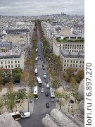 Купить «Париж», фото № 6897270, снято 11 октября 2011 г. (c) Яна Королёва / Фотобанк Лори