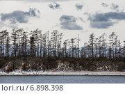 Купить «Вид побережье островов на озере Байкал, Россия», фото № 6898398, снято 29 мая 2014 г. (c) Николай Винокуров / Фотобанк Лори