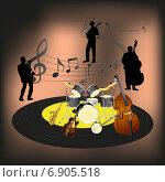Купить «Джазовый ансамбль», иллюстрация № 6905518 (c) Yevgen Kachurin / Фотобанк Лори