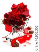 Купить «Композиция на день Святого Валентина», фото № 6906306, снято 21 января 2014 г. (c) Наталия Кленова / Фотобанк Лори