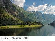Sognefjord Согне-фьорд (2014 год). Стоковое фото, фотограф Анастасия Калинцева / Фотобанк Лори