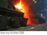 Цех по выплавке тяжелых цветных металлов. Стоковое фото, фотограф Игорь Чириков / Фотобанк Лори
