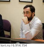 Израильский актер Гера Сандлер (2013 год). Редакционное фото, фотограф verbaska / Фотобанк Лори