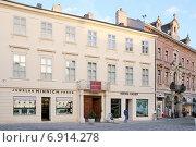 """""""Kaizerhaus"""". Баден под Веной (Baden bei Wien). Нижняя Австрия (2014 год). Редакционное фото, фотограф stargal / Фотобанк Лори"""