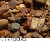 Гладкие речные камни. Стоковое фото, фотограф Александр Владимирович / Фотобанк Лори