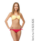 Купить «beautiful woman in bikini», фото № 6923826, снято 25 июня 2012 г. (c) Syda Productions / Фотобанк Лори