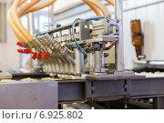 Купить «Автоматическая линия по производству мороженого», фото № 6925802, снято 25 декабря 2014 г. (c) Евгений Ткачёв / Фотобанк Лори
