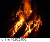 Купить «Ночной костер», фото № 6925806, снято 3 июля 2005 г. (c) Евгений Ткачёв / Фотобанк Лори