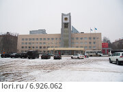 Купить «Администрация подмосковного города Мытищи», фото № 6926062, снято 24 января 2015 г. (c) Андрей Рожков / Фотобанк Лори
