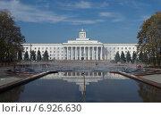 Купить «Дом правительства в городе Нальчике», фото № 6926630, снято 27 октября 2012 г. (c) KSphoto / Фотобанк Лори