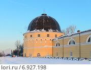 Купить «Башня гостиного двора в Архангельске», фото № 6927198, снято 4 января 2015 г. (c) Марина Славина / Фотобанк Лори