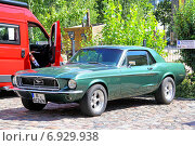 Купить «Ford Mustang», фото № 6929938, снято 12 августа 2014 г. (c) Art Konovalov / Фотобанк Лори