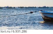 Купить «Fishing boats», фото № 6931286, снято 20 ноября 2014 г. (c) Яков Филимонов / Фотобанк Лори